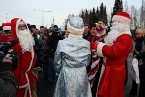 Joulu alkaa rajalta
